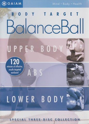Body Target: Balance Ball (Upper Body / ABS / Lower Body) (Boxset) DVD Movie