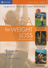 Yoga For Weight Loss (Quick Start Yoga / Yoga Conditioning / Maintenance Yoga) (Boxset)