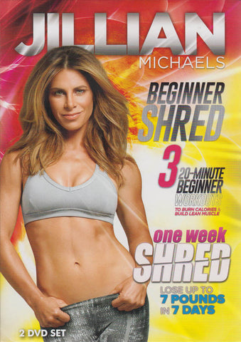 Jillian Michaels (Beginner Shred / One Week Shred) (Boxset) DVD Movie