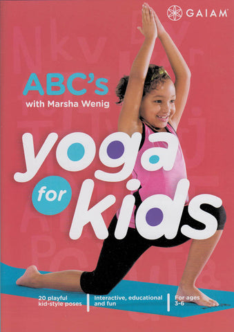 Yoga for Kids - ABC's DVD Movie