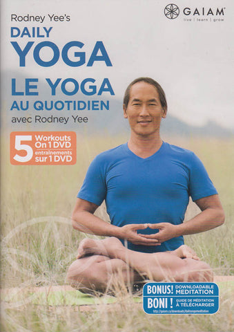 Rodney Yee s - Daily Yoga (Bilingual) DVD Movie