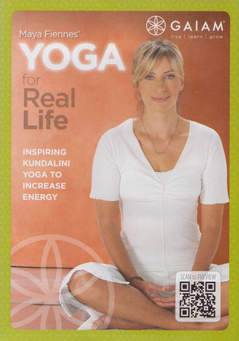Maya Fiennes Yoga for Real Life DVD Movie