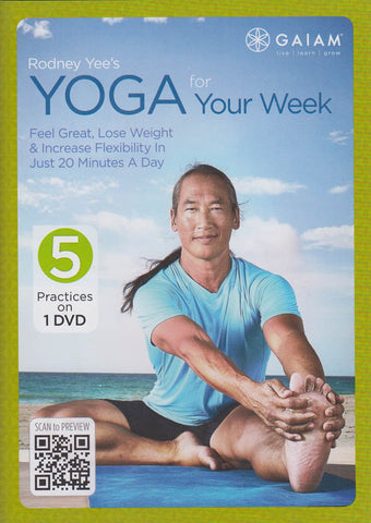 Rodney Yee's - Yoga for Your Week DVD Movie