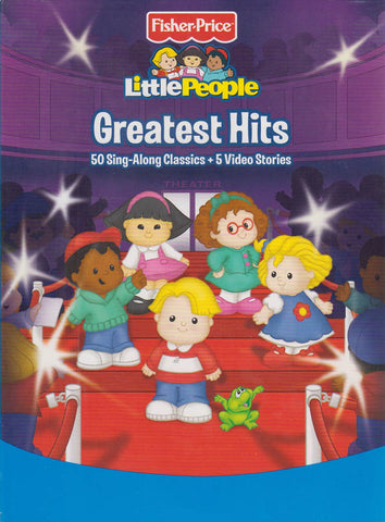 Fisher Price - Little People : Greatest Hits (50 Sing-Along Classics + 5 Video Stories) (Boxset) DVD Movie