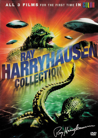 Ray Harryhausen (20 Million Miles to Earth / It Came from Beneath the Sea..) (Boxset) DVD Movie