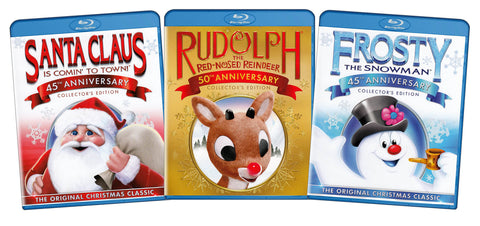 The Original Christmas Classics Giftset (Santa Claus / Rudolph / Frosty the Sn..) (Boxset) (Blu-ray) BLU-RAY Movie