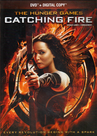 The Hunger Games - Catching Fire (DVD + Digital Copy) (Bilingual) DVD Movie