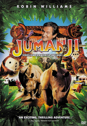 Jumanji (Bilingual) DVD Movie