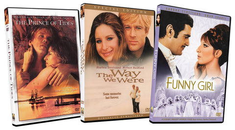 Barbra Streisand Collection (The Prince of Tides / The Way we Were / Funny Girl) (3-Pack) DVD Movie