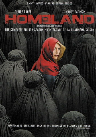 Homeland - The Complete Season 4 (Bilingual) DVD Movie