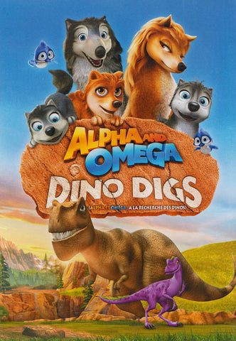 Alpha & Omega - Dino Digs (Bilingual) DVD Movie