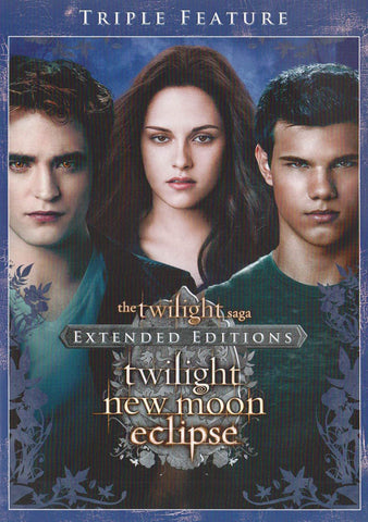 The Twilight Saga (Twilight / New Moon / Eclipse) (Extended Version) (Triple Feature) DVD Movie