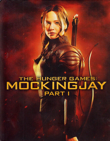 The Hunger Games: MockingJay Part 1 (Blu-ray + DVD) (Blu-ray) (Steelcase) (Bilingual) BLU-RAY Movie