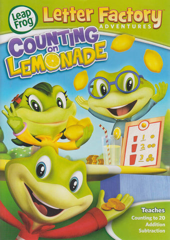 LeapFrog Letter Factory Adventures - Counting On Lemonade DVD Movie