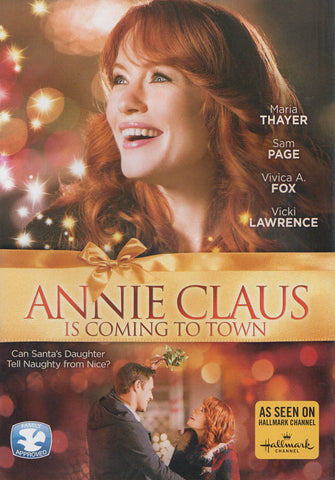 Annie Claus Is Coming To Town DVD Movie