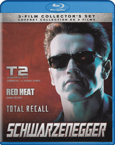 Schwarzenegger (T2: Judgment Day / Red Heat / Total Recall) (Blu-ray) (Bilingual) BLU-RAY Movie