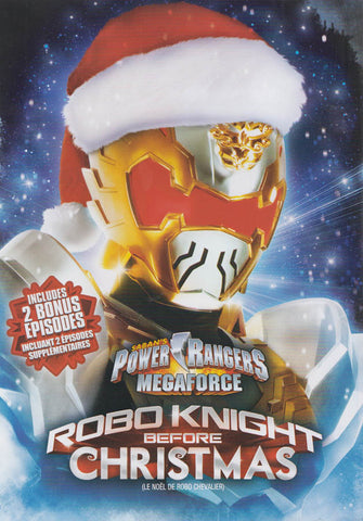Saban's Power Rangers Megaforce - Robo Knight Before Christmas (Bilingual) DVD Movie