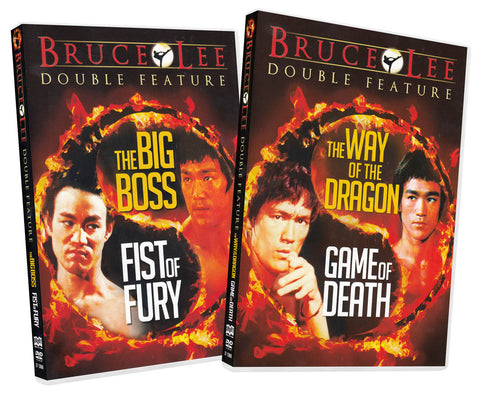 Bruce Lee Double Feature Movie Pack (2-Pack) DVD Movie
