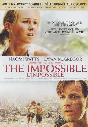 The Impossible (Bilingual) DVD Movie