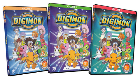 Digimon - Digital Monsters (Season 1 / Volume 1-3) (3-Pack) DVD Movie