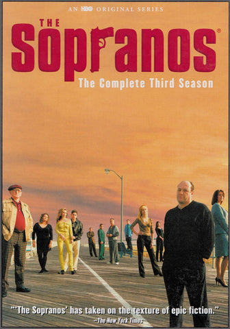 The Sopranos - The Complete Season 3 (Keepcase) DVD Movie