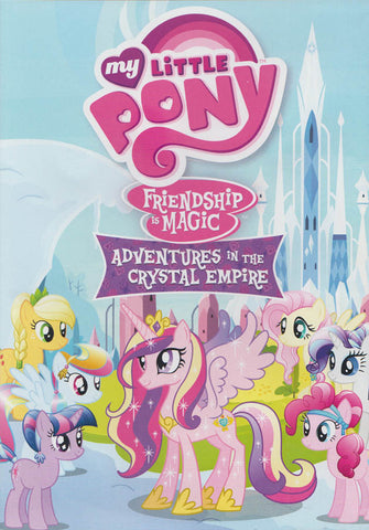 My Little Pony : Friendship is Magic - Adventures in The Crystal Empire DVD Movie