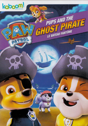 PAW Patrol - Pups and the Ghost Pirate (Bilingual) DVD Movie