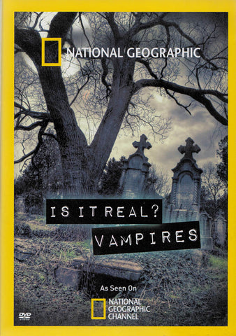 National Geographic : Is It Real - Vampires DVD Movie