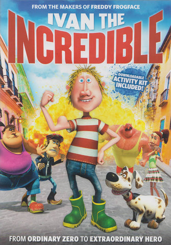 Ivan The Incredible DVD Movie