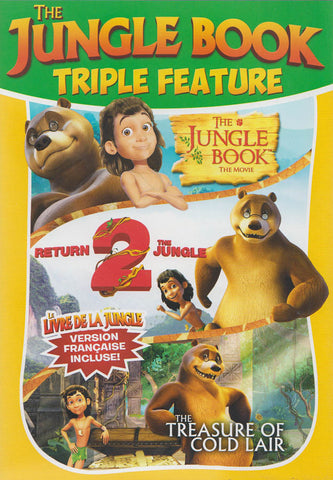 The Jungle Book Triple Feature (The Jungle Book / Return 2 The Jungle / The Treasure of Cold Lair) DVD Movie