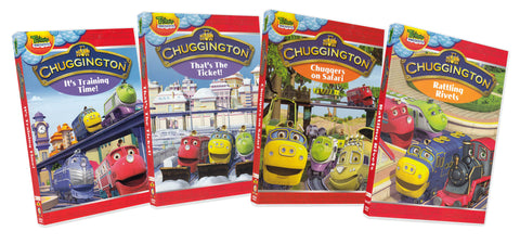 Chuggington Collection (Volume 2) (4 Pack) (Boxset) DVD Movie