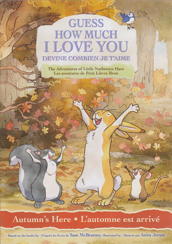 Guess How Much I Love You - Autumn's Here (Bilingual) DVD Movie
