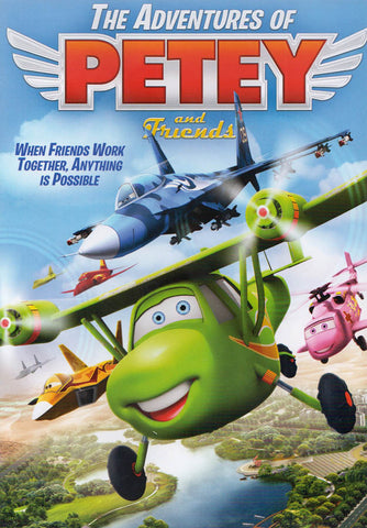 The Adventures Of Petey and Friends DVD Movie