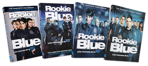 Rookie Blue (The Complete 1-4 Season) (Boxset) (4 Pack) (Bilingual) DVD Movie