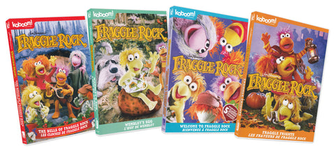 Fraggle Rock (The Bells of Fraggle Rock / Wembley's Egg / Welcome to Fraggle Rock / Fraggle Frights) DVD Movie