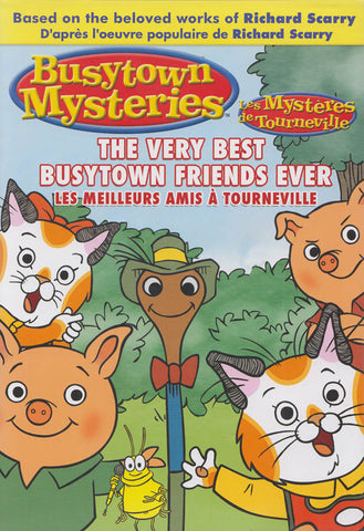 Busytown Mysteries : The Very Best Busytown Friends Ever (Bilingual) DVD Movie
