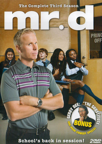 Mr.D (The Complete (3rd) Third Season) DVD Movie