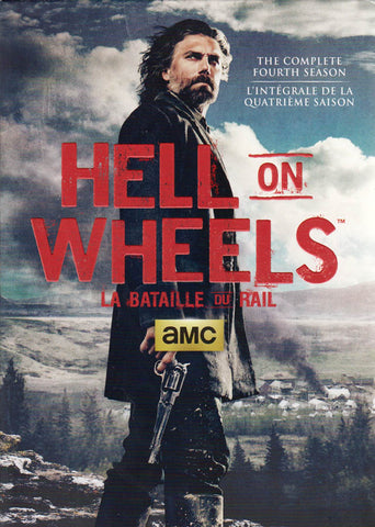 Hell On Wheels - The Complete Season 4 (Bilingual) (Slipcover) DVD Movie