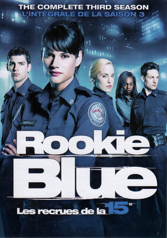 Rookie Blue - The Complete Season 3 (Bilingual) DVD Movie