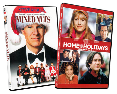 Mixed Nuts / Home For the Holiday (Bilingual) (2-Pack) DVD Movie