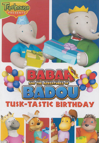 Babar and the Adventures of Badou: Tusk-Tastic Birthday (Bilingual) DVD Movie