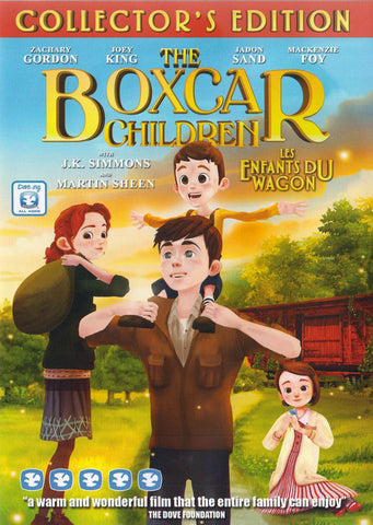 The Boxcar Children (Bilingual) DVD Movie