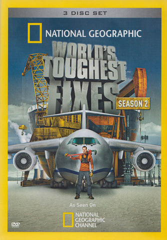 National Geographic : World's Toughest Fixes - Season 2 DVD Movie