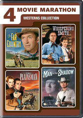 4 Western Adventures (The Far Country / Whispering Smith / The Plainsman / Man In The Shadow)