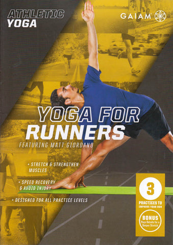 Athletic Yoga - Yoga For Runners Featuring Matt Giordano DVD Movie