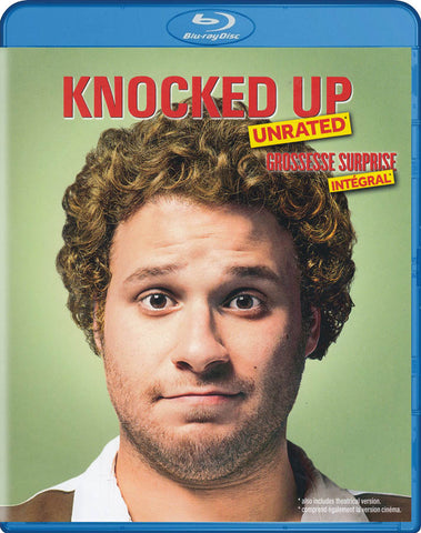 Knocked Up (Unrated and Unprotected) (Bilingual) (Blu-ray) BLU-RAY Movie