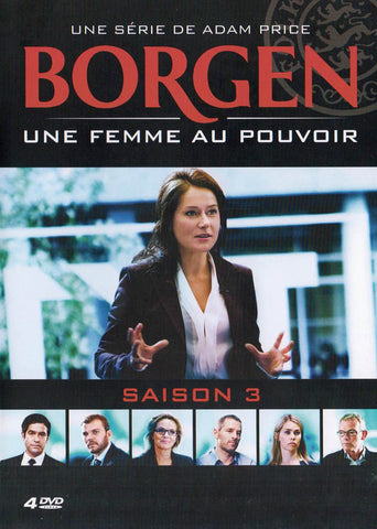 Borgen - Une Femme au Pouvoir (Season 3) (French Cover) DVD Movie