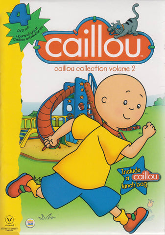 Caillou Collection Volume 2 (Include a lunch bag) (Boxset) DVD Movie