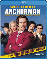 Anchorman - The Legend of Ron Burgundy (The Rich Mahogany Edition) (Blu-ray)