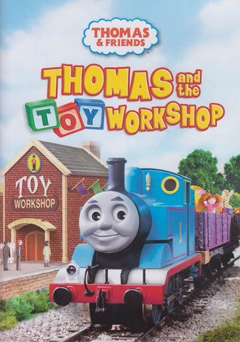 Thomas and Friends - Thomas and the Toy Workshop (ALL) DVD Movie